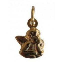 Médaille ange en métal doré