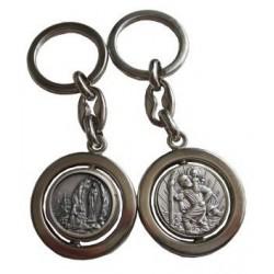 Porte-clés rond pivotant SCH NDL