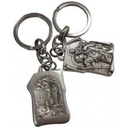 Porte-clés parchemin Saint Christophe NDL