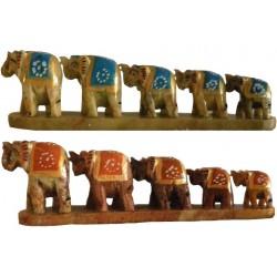 Marche des 5 éléphants rouge