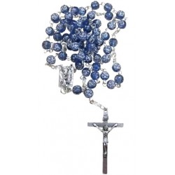 Chapelet bleu Notre Dame de Lourdes