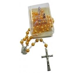 Chapelet orange Notre Dame de Lourdes
