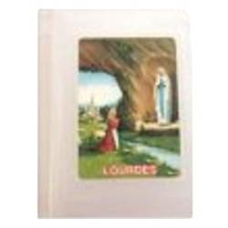 Boite plastique Notre Dame de Lourdes