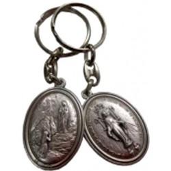 Porte-clés ovale NDL VM