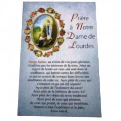 Carte postale NDL prière