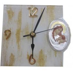 Pendule Vierge et l'Enfant