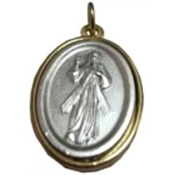 Médaille ovale Jésus Miséricordieux