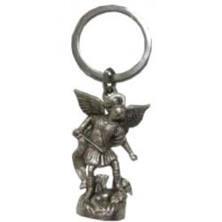 Porte-clé Archange Saint Michel statue