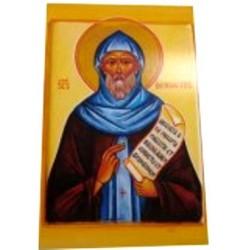 Carte prière Saint Benoit