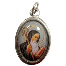 Médaille ovale Saint Benoit