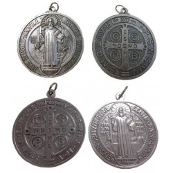 Médaille de porte Saint Benoit 5 ou 10 cm