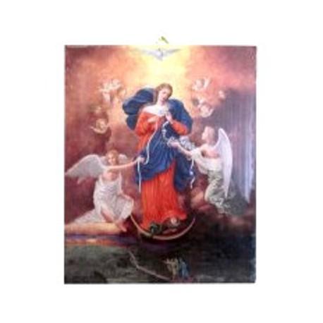 Cadre Marie qui défait les noeuds