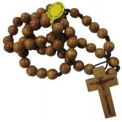 Chapelet rond bois d'olivier