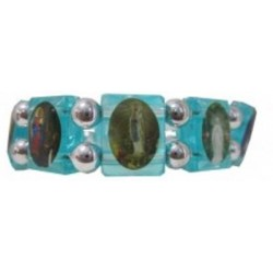 Bracelet bleu Apparitions Mariales