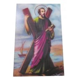 Carte prière Saint André