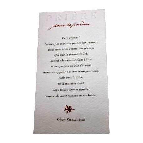 Carte pri re pour le pardon - Priere pour couper le sang ...