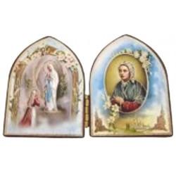 Diptyque Notre Dame de Lourdes 7cm