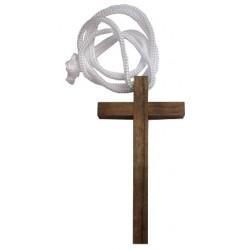 Croix bois cordon