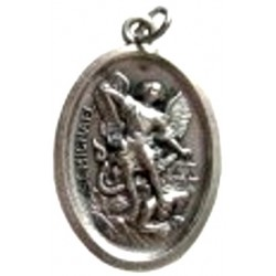 Médaille ovale Achange Saint Michel