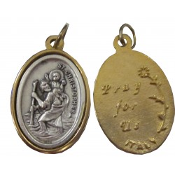 Médaille ovale STChristophe