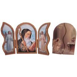Triptyque Saint Benoit