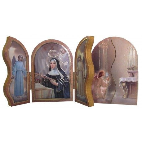 Triptyque Sainte Rita