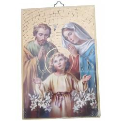 Cadre mosaïque Sainte Famille