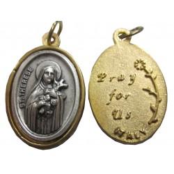 Médaille ovale Sainte Thérèse