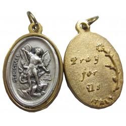 Médaille ovale Saint Michel