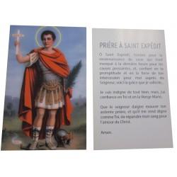 Carte prière Saint Expédit