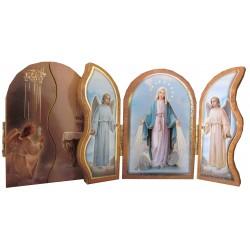 Triptyque Vierge Miraculeuse