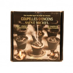 "Charbon+encens Saint MICHEL ""Aromatika"" DISPONIBLE OCTOBRE"