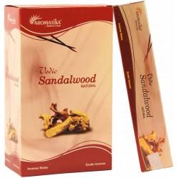 "Encens Sandalwood (Bois de Santal) ""Védic Aromatika"" 15gr"