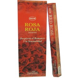 "Encens Red Rose (Rose Rouge) ""HEM"" HEXA"