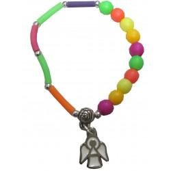 Bracelet enfant  multicouleur Ange