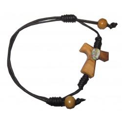 Bracelet coulissant cuir