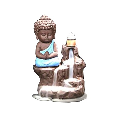 Fontaine résine Bouddha pour cônes