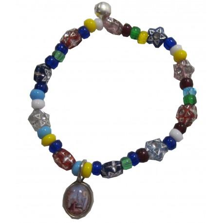 Bracelet multicolore étoiles