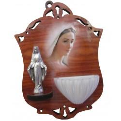 Bénitier Vierge miraculeuse