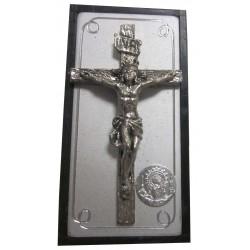 Magnet doré/argenté croix