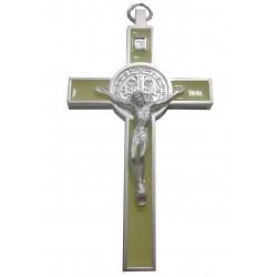 Croix Saint Benoit beige 12,5