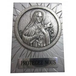 Magnet rectangulaire métal Ste Thérèse