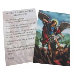 Carte prière Archange Saint Michel