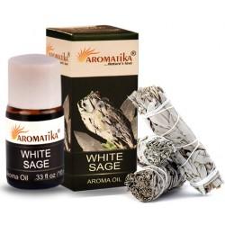 "Huile essentielle White Sage(Sauge Blanche) ""Aromatika"" 10 ml"