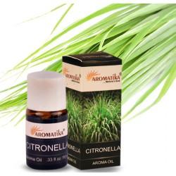 """CITRONELLA (citronelle) (Aroma Oil) """"Aromatika"""" 10 ml"""