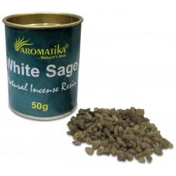WHITE SAGE ( sauge blanche) résine naturelle 50 gr