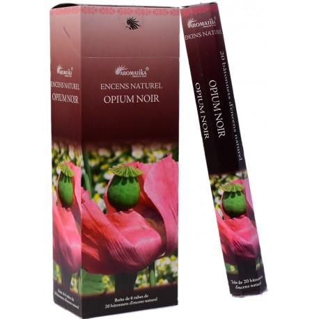 "Encens opium noir ""Aromatika"" hexa"