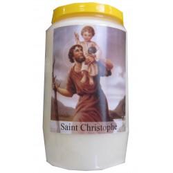 SAINT CHRISTOPHE veilleuse 3 jours