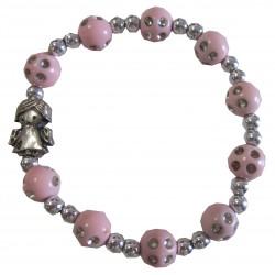 Bracelet rose Ange