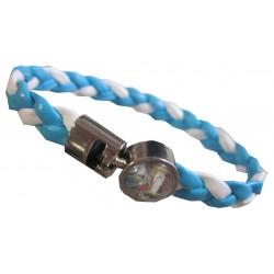 Bracelet bleu/blanc NDL